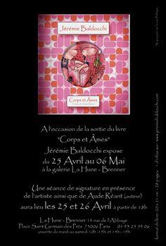 Exposition: Galerie La Hune – Brenner – Paris du 25 Avril au 06 Mai 2006 sur le site de Jeremie Baldocchi Artiste Peintre Contemporain Figuratif Français
