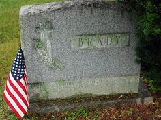 Leaves & Branches: Tombstone Tuesday: Brady in New Jersey