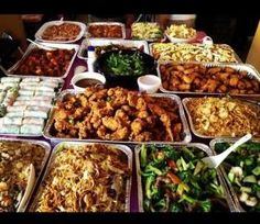 Typical Filipino Party Food=FOOD COMA! by lynda