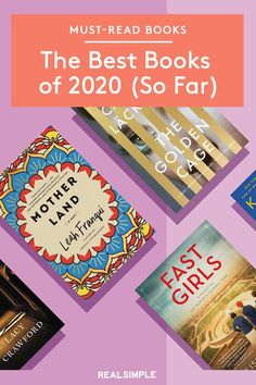 The Best Books of 2020 (So Far) | These are the best books and novels that have been published in 2020 that we can't stop reading. From unbelievable biographies, stunning crime novels, funny slice of life books, and many other literary genres, these are the best books so far of 2020. #realsimple #bookrecomendations #thingstodo #bookstoread