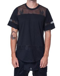 Bleach Hockey Mesh Tee Black http://pasar-pasar.com/collections/bleach/products/bleach-hockey-mesh-tee-black