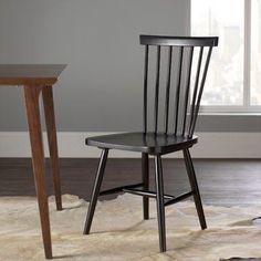 Brayden Studio Driftwood Side Chairs (Set of 2) Finish: Grey Wash