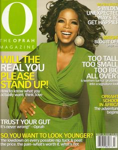 oprah magazine covers   ... glam for February 2014 'O' cover; her most fab magazine covers