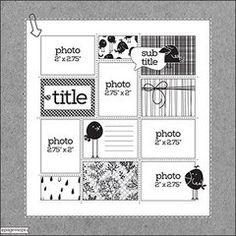 Scrapbook.com Sketch Gallery