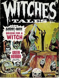 Witches' Tales, July 1969