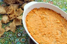 buffalo chicken dip -- highly addicting! :)
