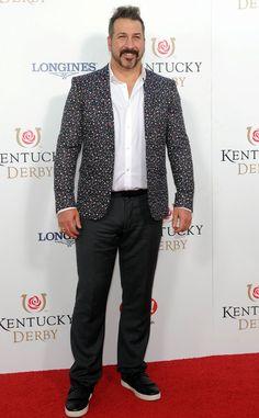 2015 Kentucky Derby - Singer, Actor, Joey Fatone attends the derby. E! Online
