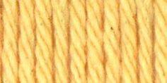 Lily® Sugar'n Cream® Cotton Yarn Country Yellow