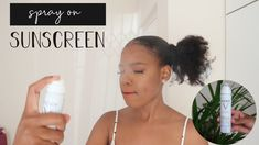 A review of spray on sunscreen for black women.   A demo and review of the Vichy Invisible Mist SPF50 PA++++ antipollution and antioxidant sunscreen  spray on sunscreen over makeup, sunscreen for dark skin, spray on suncreen for black women, review of spray on sunscreen, how to apply spray on sunscreen, how long to apply spray on sunscreen, vichy invisible mist, how to reapply sunscreen throughout the day, how to apply sunscreen over makeup, sunscreen for black women Best Sunscreens, Dark Skin, Mists, Black Women, How To Apply, Skin Care, Makeup, Make Up, Brown Skin