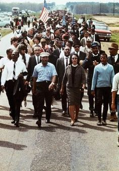 March 25, 1965 25,000 people (Led By Dr Martin Luther King & His wife Coretta Scott King) marched from St. Jude to the steps of the State Capitol Building  of Montgomery Alabama in the last of the 1965 Selma to Montgomery Marches. The 2 marches that followed led to the passage of the 1965 Voting Rights Act (a landmark achievement of the 1960s Civil Rights Movement).