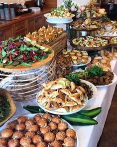 Image may contain: food Food Platters, Party Platters, Appetizers For Party, Appetizers Table, Buffet Set Up, Party Buffet, Party Spread, Brunch Table, Grazing Tables
