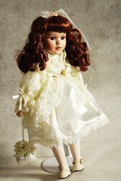 Vintage doll collectible doll wedding doll by MagicVintageShop