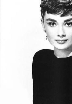 Audrey Hepburn. The epitome of icon.