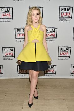 Kiernan Shipka in Delpozo at A Tribute to Mad Men: Part Two