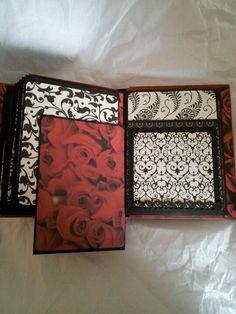 Kathy orta style envelope mini album-wedding mini album