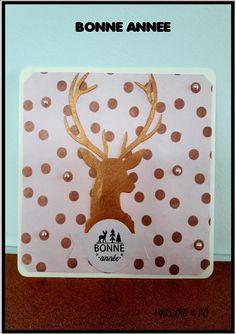 BONNES FETES DE FIN D' ANNEE : carte fait main avec livraison gratuite : Cartes par margote-et-po