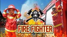 Sasha Jadi Fire Fighter - Simulasi DAMKAR
