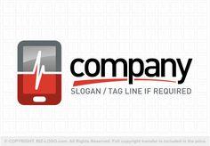 Pre-designed logo 6665: Medical Apps Logo