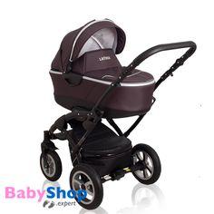 Kombikinderwagen 3in1 Latina kompakt mit Babyschale - braun  http://www.babyshop.expert/Kombikinderwagen-3in1-Latina-kompakt-mit-Babyschale_6  #babyshopexpert #kinderwagen #kombikinderwagen