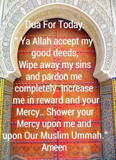 Muslim Quotes, Islamic Quotes, Dua In English, Thank You Allah, I Muslim, Think Before You Speak, Jumma Mubarak, Wipe Away, Good Deeds