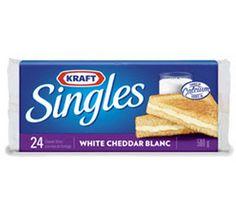 Paquet de 48 tranches de fromage Singles de Kraft à 4$ - Quebec echantillons gratuits
