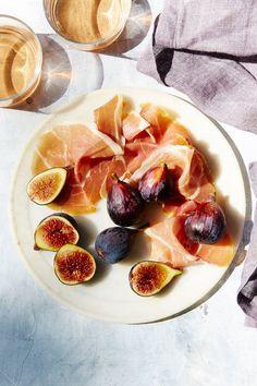 Serrano Ham Figs - N