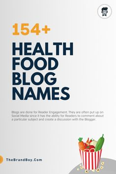 101+ Top Health food blogs and Pages names   Thebrandboy Food Blog Names, Food Blogs, Slogan About Nutrition, Health And Nutrition, Healthy Eating, Healthy Recipes, Diet, Top, Names