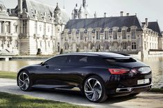 Photos of the Citroen Numero 9 Concept, a DS Concept from Citroen - previously thought likely to be - showcasing the future of Citroen DS Design Citroen Concept, Concept Cars, Best Luxury Cars, Luxury Suv, My Dream Car, Dream Cars, Peugeot, Luxury Helicopter, Muscle Cars
