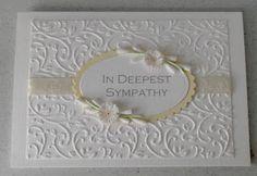 Paper Daisy: sympathy card