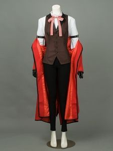Free Shipping Black Butler-Kuroshitsuji Grell Sutcliff Costume For Sale,buy Cosplay Costumes Black Butler Kuroshitsuji Grell Sutcliff is Free Shipping on profession Cosplay Shop.