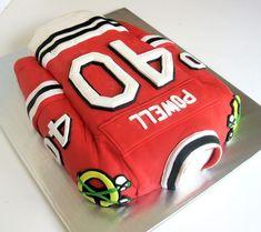 Hockey Jersey Cake cakepins.com