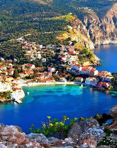 Assos, Kefalonia island, Greece...!!