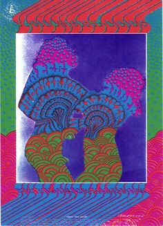 """9/15-17/ 1967 ...... Avalon Ballroom   """"Youngbloods""""  ...... Other Half ....  Mad River ..... artist .... VICTOR MOSCOSO .... photographer .....  PAUL KAGAN"""