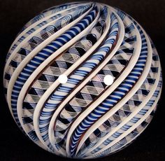Zac's Lost His Marbles   Richard Hollingshead - 32 Line Cane Marble
