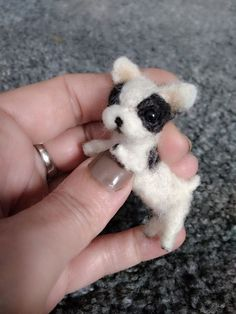 This needle felted puppy can flex and move much like a real dog/ wire skeleton /. All Sculptures are crafted using the art of Needle Felting. | eBay!