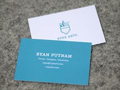 Dribbble - RA Business Cards by Ryan Putnam