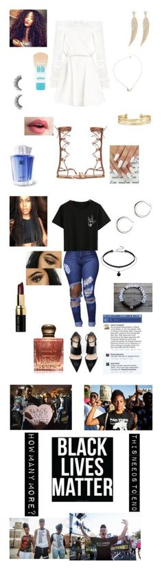 """""""Black Lives Matter"""" by apollar2 ❤ liked on Polyvore featuring Thierry Mugler, Stella & Dot, Maybelline, Bobbi Brown Cosmetics, Inspiritu, BlackLivesMatter, interior, interiors, interior design and home"""