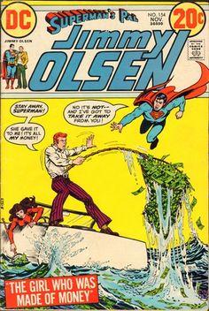 Superman's Pal Jimmy Olsen Comic # 154 Date Published: November 1972 Type: Bronze Age Publisher: DC Comics Condition: VG/-FN