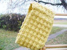 Crocheted Neck warmer in Butter by ACozyCrochet on Etsy, $28.00