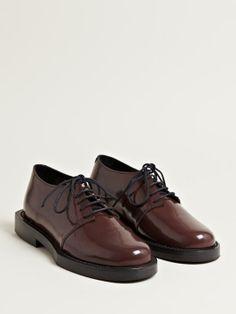 Achilles Ion Gabriel Women's Patent Derby Shoes