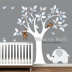 Kinderen muur Decal kwekerij Vinyl muur Stickers door Modernwalls