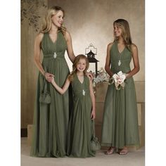 Dresses for all bridesmaids