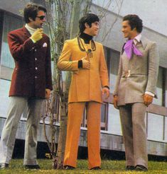 Find new mens fashion suits and sportcoats in the ultra skinny, mod, or classic American style. Or go funky in men's disco suits. Americana Vintage, Vintage Men, Mens Fashion Suits, Mens Suits, Male Fashion, 70s Fashion Men, Fashion Menswear, Fashion Top, Fashion Vintage