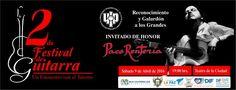2do Festival de guitarra , 09-abr, Teatro de la Ciudad , La Paz