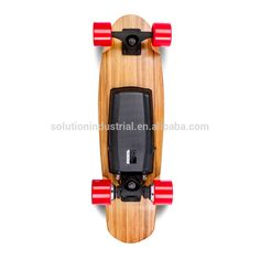 Hoverboard Electric Skateboard 28inch Bamboo Electric Scooters 800W Dual Motor 4 Wheels Only 4.3kg Bestsellers In China