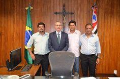 Visita de lideranças à Presidência da ALESP