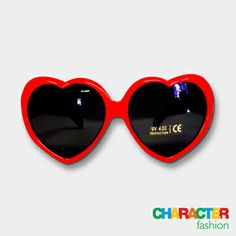 #CharacterFashion Minnie Mouse Heart-Shaped Sunglasses Character Group, Heart Shaped Sunglasses, My True Love, Funky Fashion, My Baby Girl, Gifts For Kids, Summertime, Minnie Mouse, Christmas Gifts