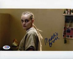 Madeline Brewer Orange is the New Black Signed 8x10 Photo Certified Authentic PSA/DNA