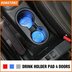 Source Aluminum Alloy Drink Holder Pad Car Front Cup Holder for 4 Doors Jeep Wrangler JK 2011-2016 on m.alibaba.com