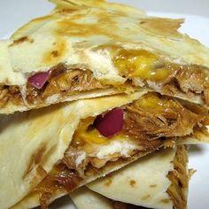 Barbecue Chicken Quesadillas - Real Mom Kitchen